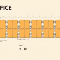 Office Sublot 9 -18 First Floor Plan