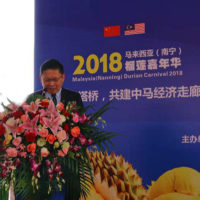 "Million Sunray Organized Second ""Malaysia (Nanning) Durian Carnival 2018"" in Nanning, China"