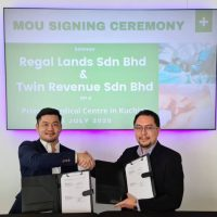 Regal Lands Signs MOU On Medical Centre To Complement Tropics City